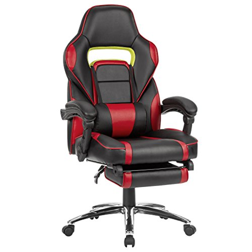 co-z gaming & racing style office/desk chair with high backrest
