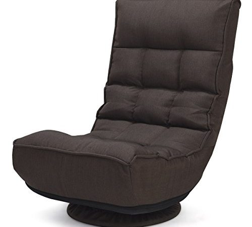 Floor Chair Swivel: Giantex 360 Degree Swivel Game Chair Folding 4-Position