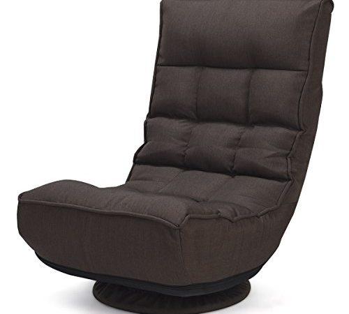 Giantex 360 Degree Swivel Game Chair Folding 4 Position